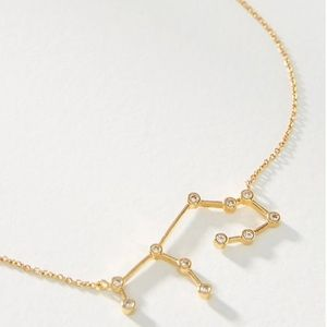Anthropologie Zodiac Necklace : Virgo